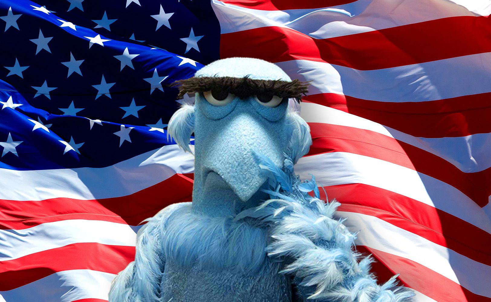 Muppets - Sam the eagle