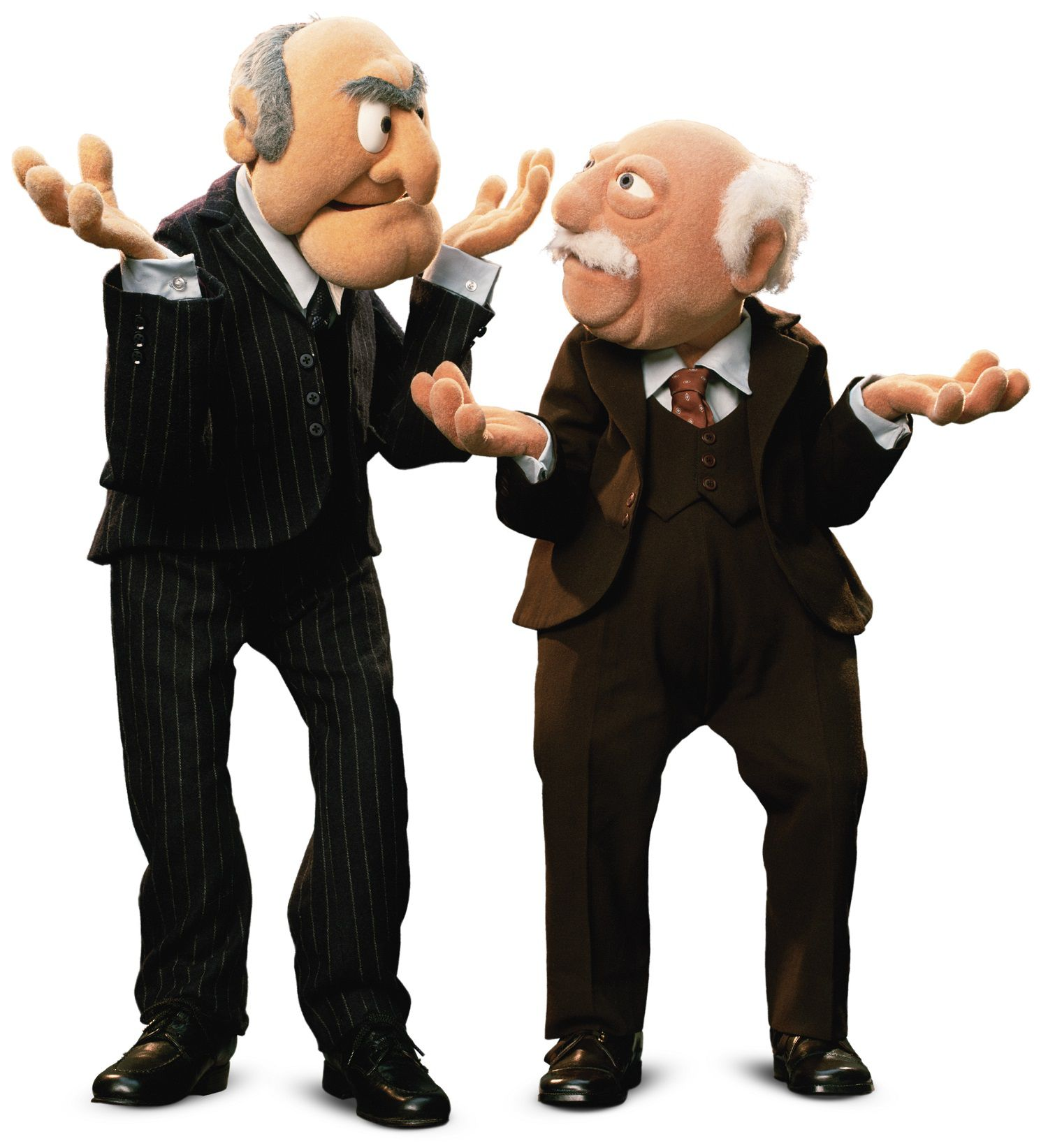 Muppets - Statler and Waldorf old guys