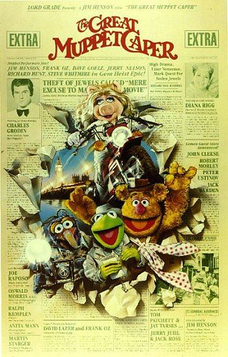 Muppets - The Great Muppet Caper (1981)