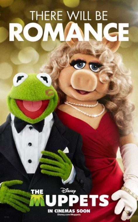 The Muppets - film 2012 - Kermit and Miss Piggy there will be Romance