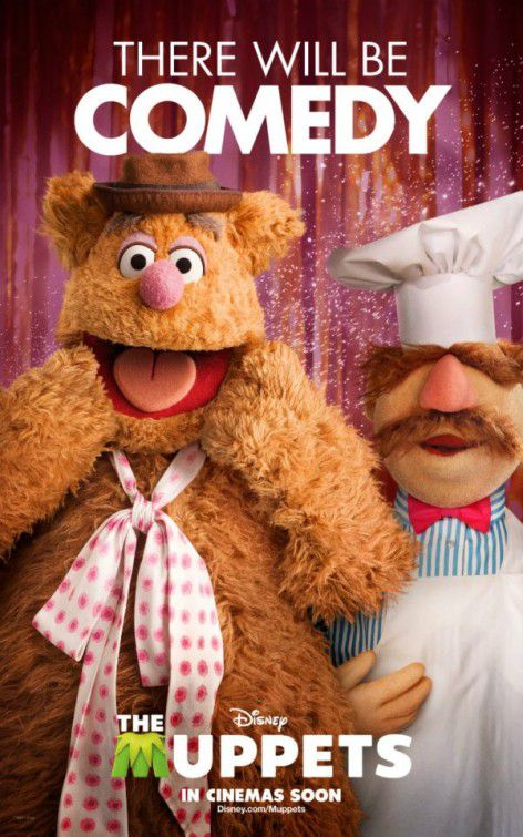 The Muppets - film 2012 - Fozzie and Cuoco Svedese there will be Comedy