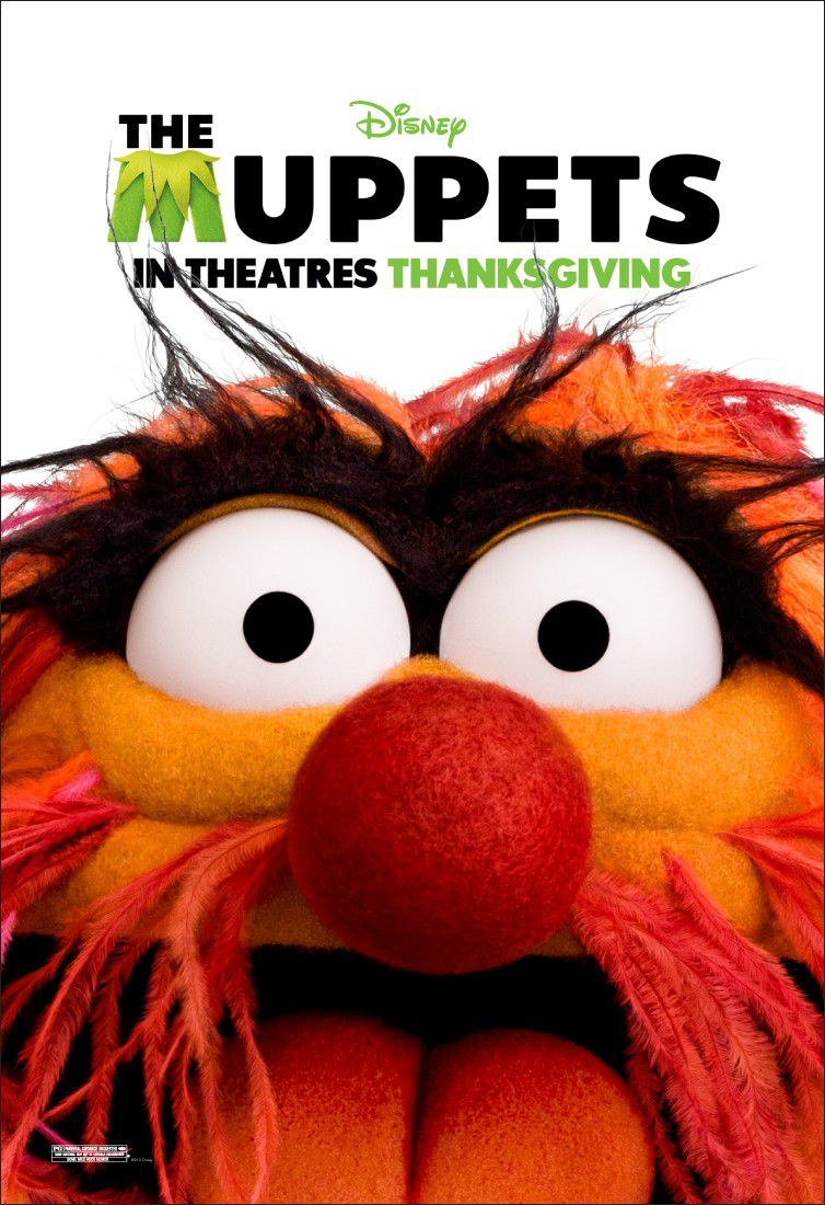The Muppets - film 2012 - Animals