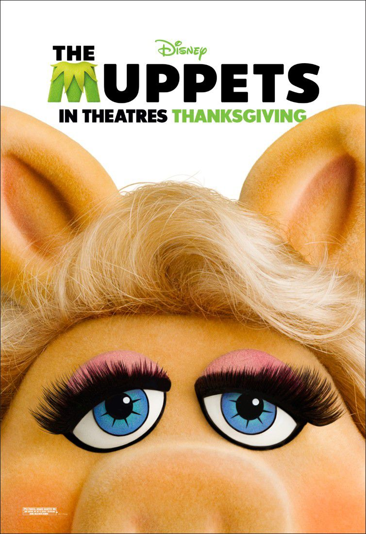 The Muppets - film 2012 - Miss Piggy