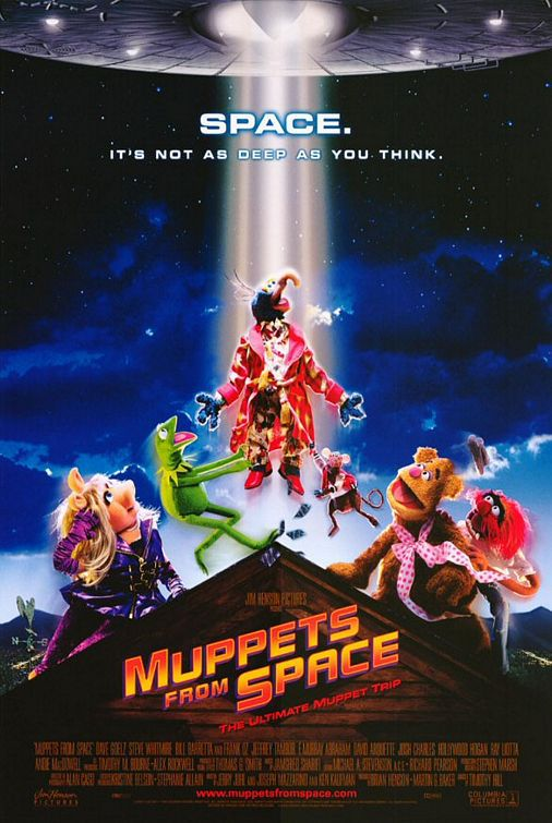 Muppets from Space - Gonzo - poster 1999