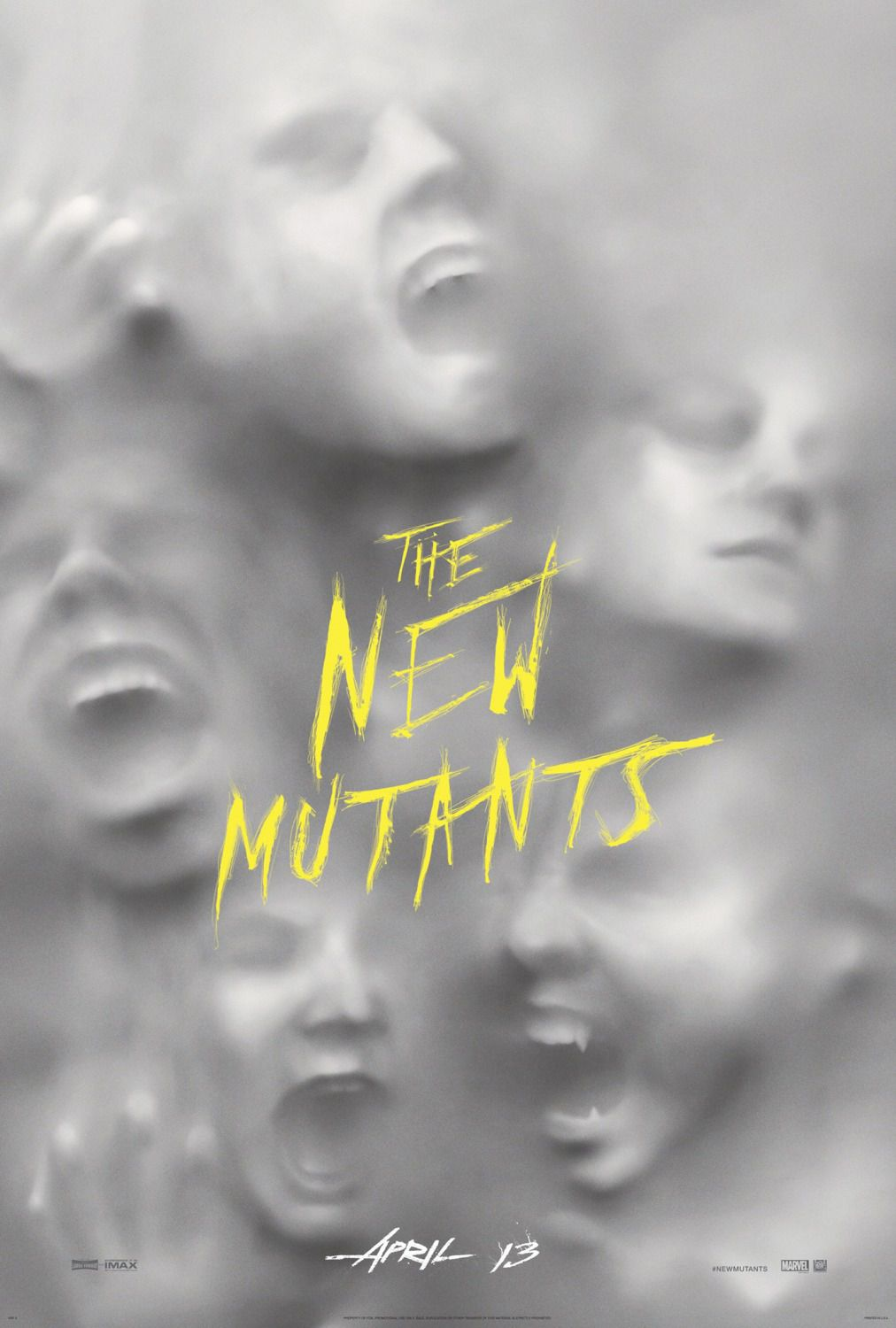 New Mutants by Josh Boone - Anya Taylor-Joy, Maisie Williams, Charlie Heaton, Blu Hunt - X-Men poster