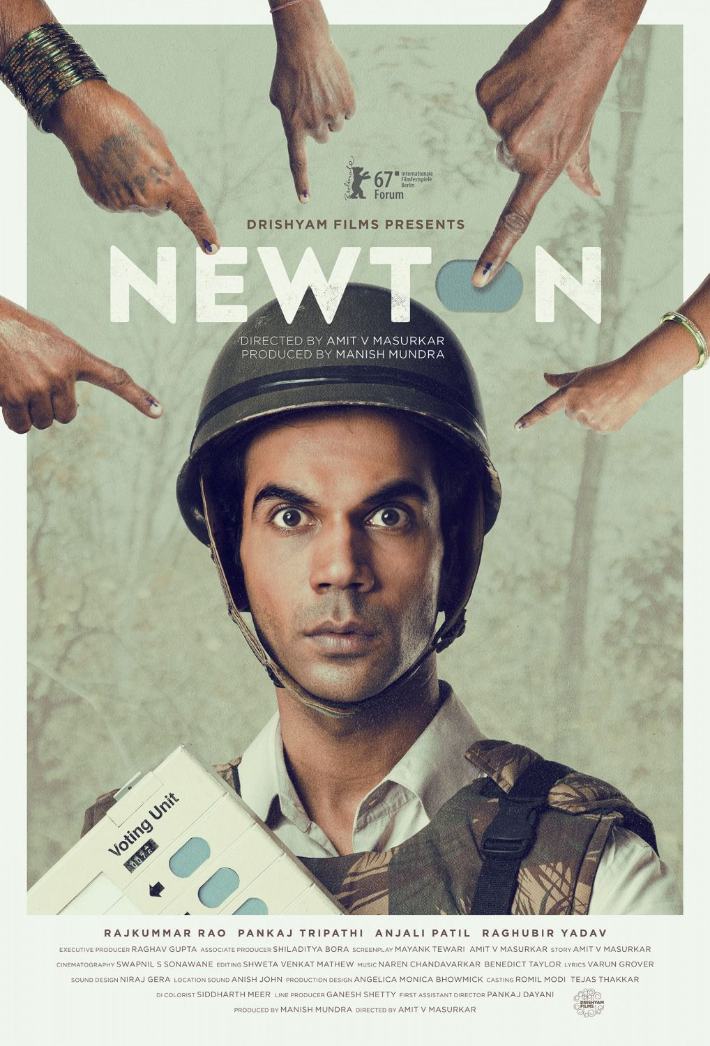 Newton - bollywood film poster 2018