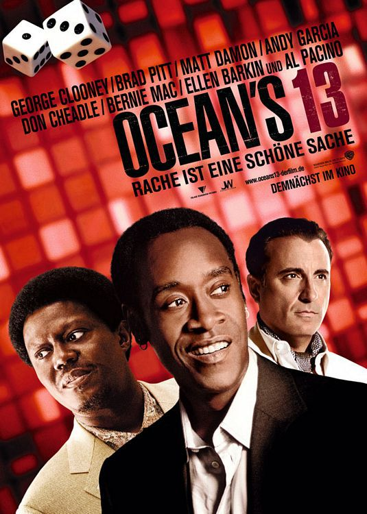 Andy Garcia, Don Cheadle, Bernie Mac