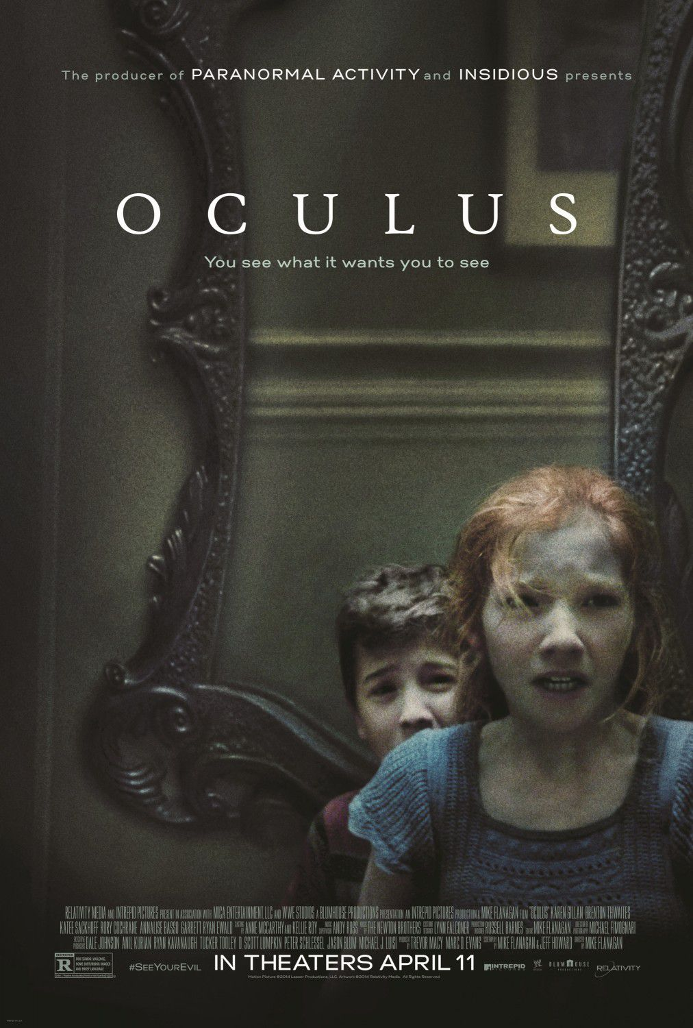 Oculus - kids horror film poster