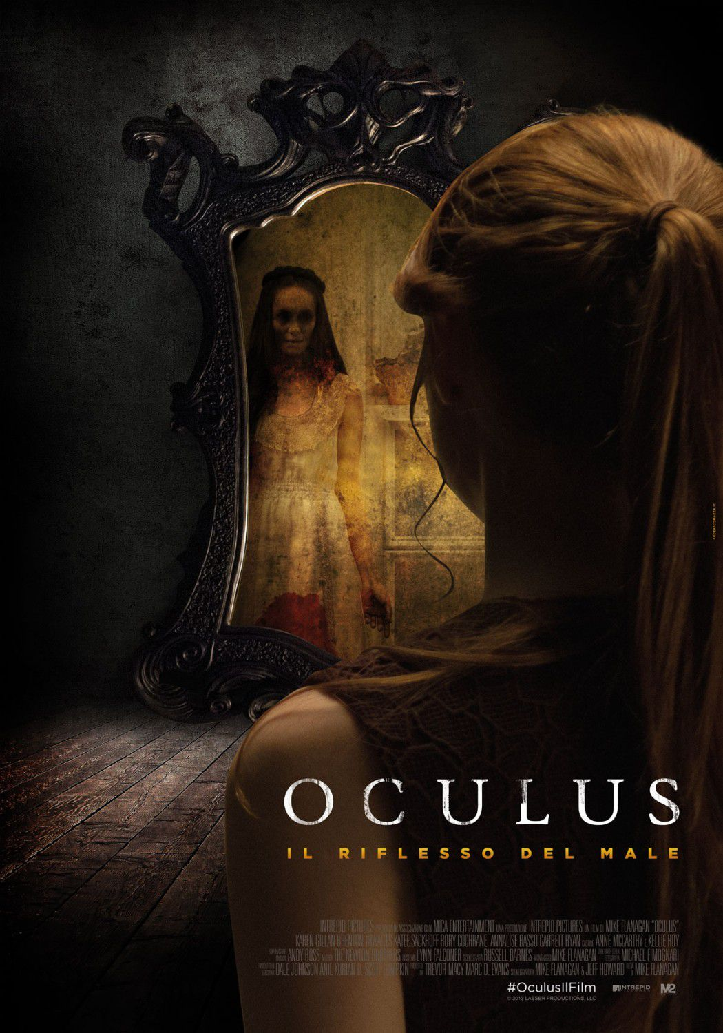 Oculus - mirror horror film poster
