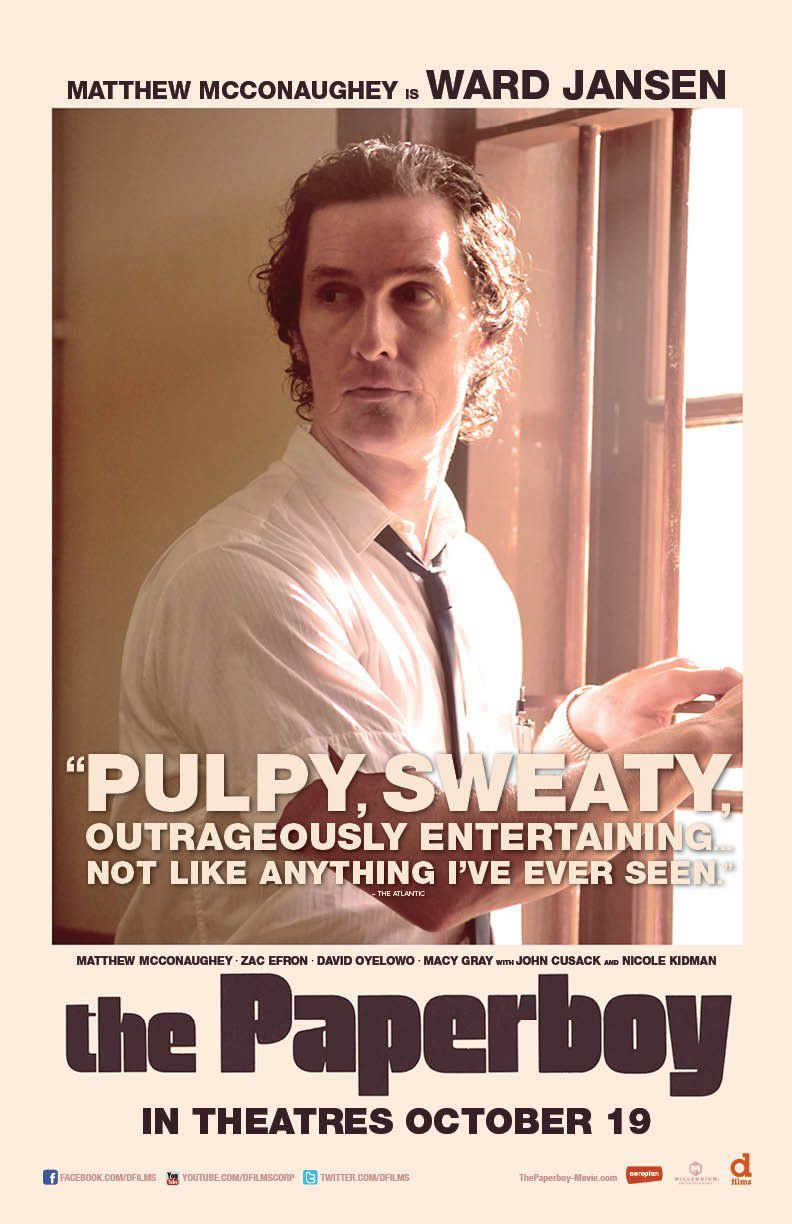 Matthew McConaughey is Ward Jansen