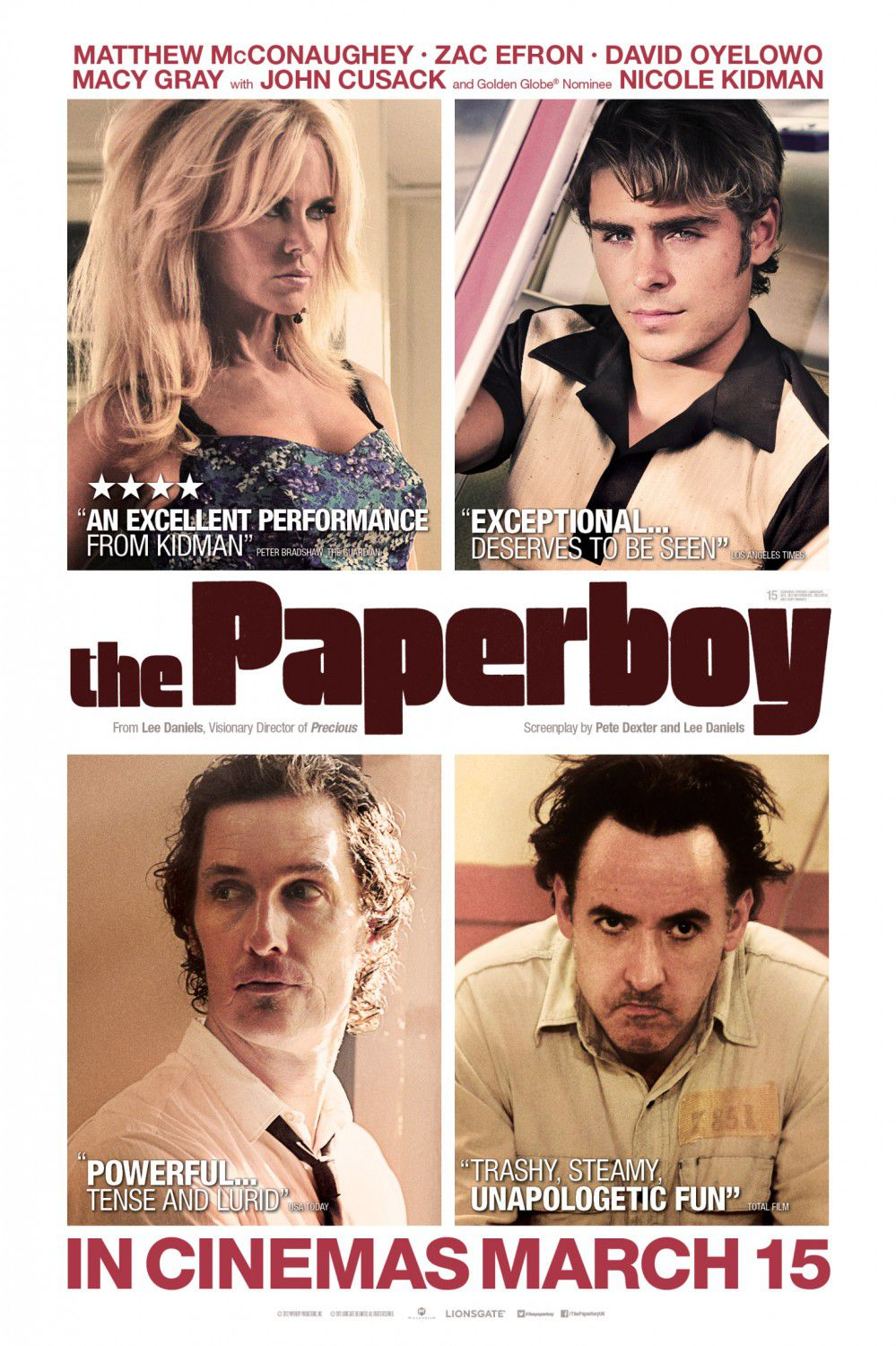 The Paperboy - film poster