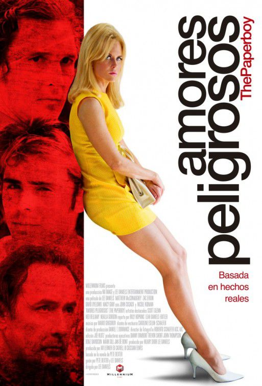 The Paperboy - Amores Peligrosos - film poster
