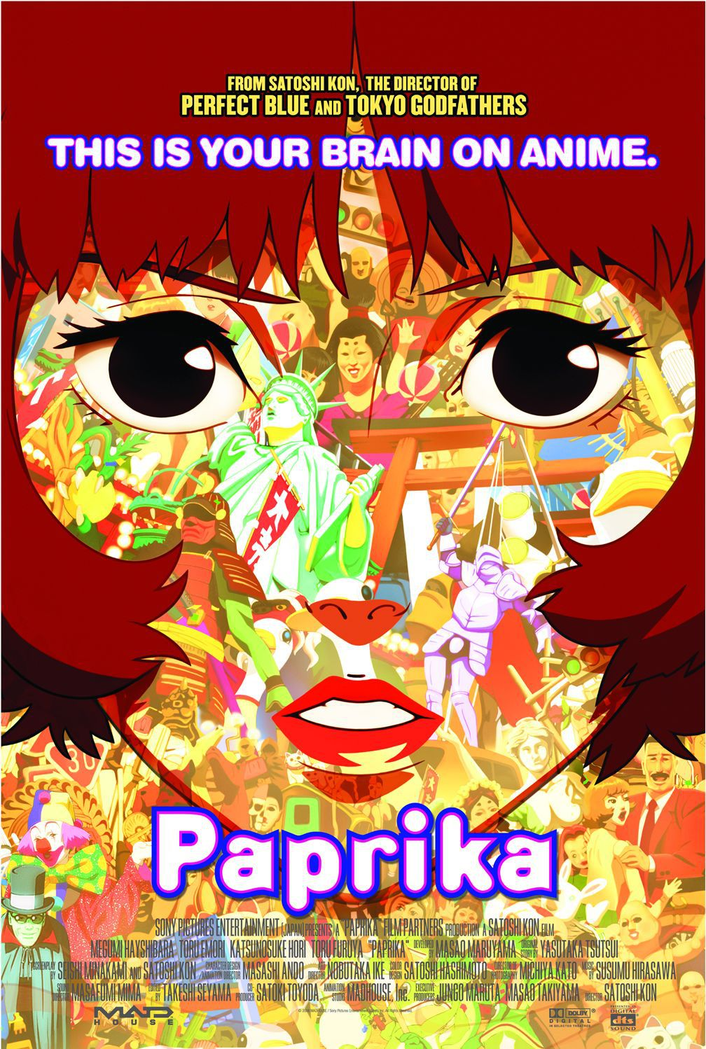 anime animated Paprika