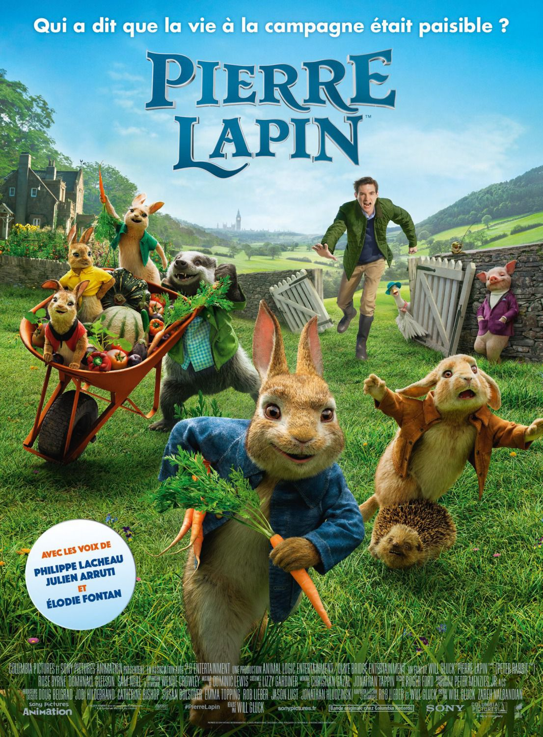 Peter Rabbit - Pierre Lapin - James Corden, Rose Byrne, Domhnall Gleeson, Daisy Ridley