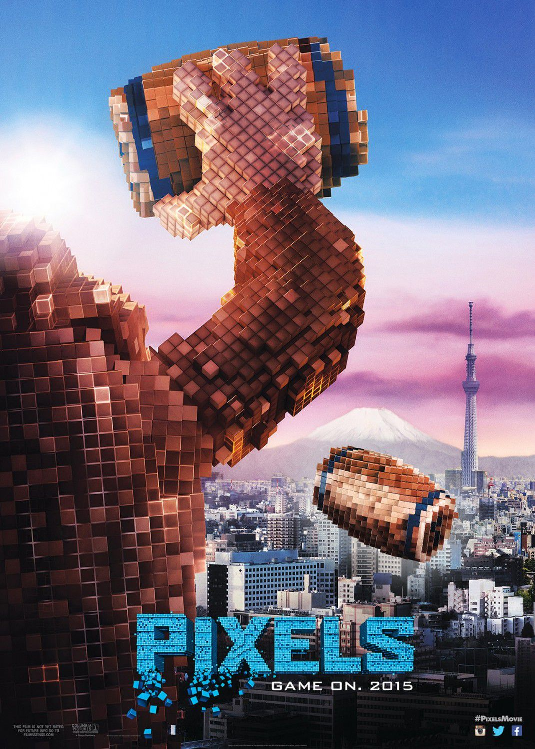 Film: Pixels (movie 2015) - Donkey Kong  Brian Cox Brian Cox