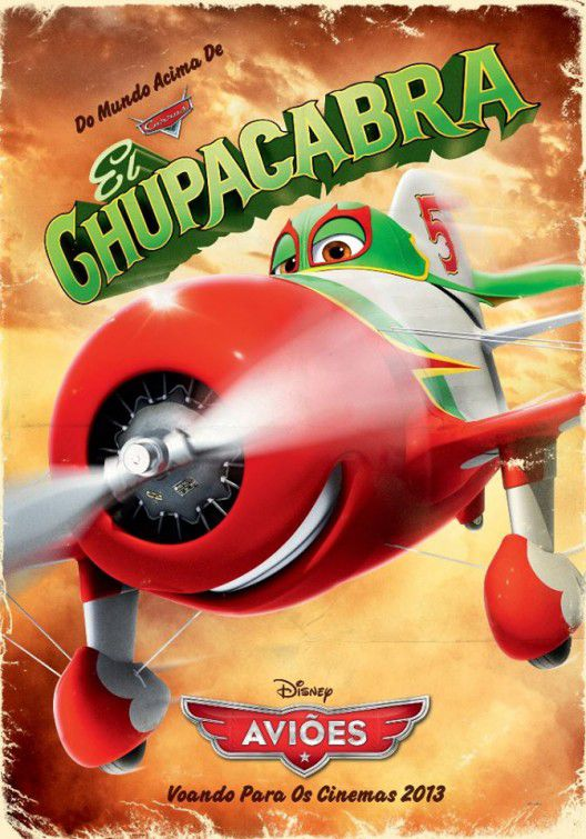 Planes - animated Disney film poster  - Chupacabra