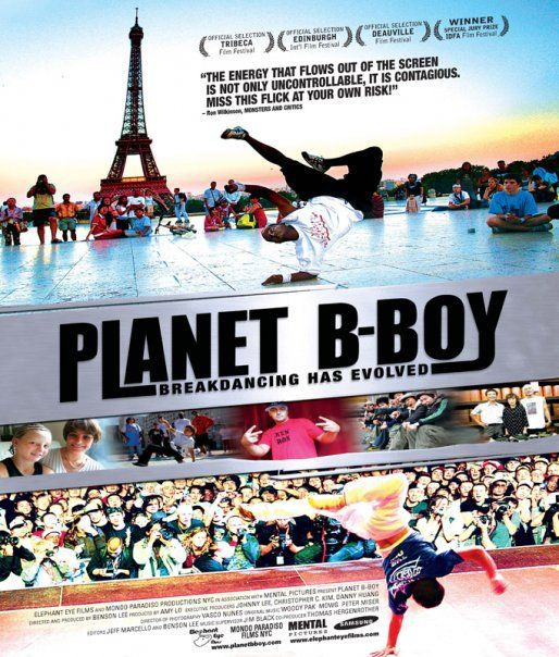 Planet B Boy - dance musical film poster Paris