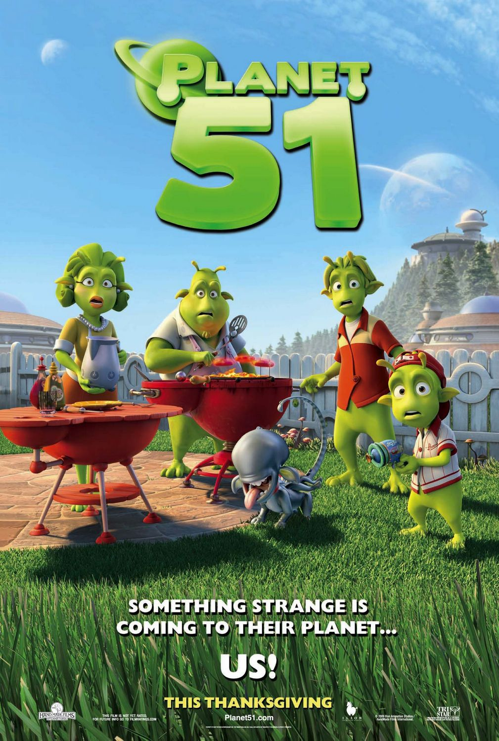 Planet 51 - alien barbecue