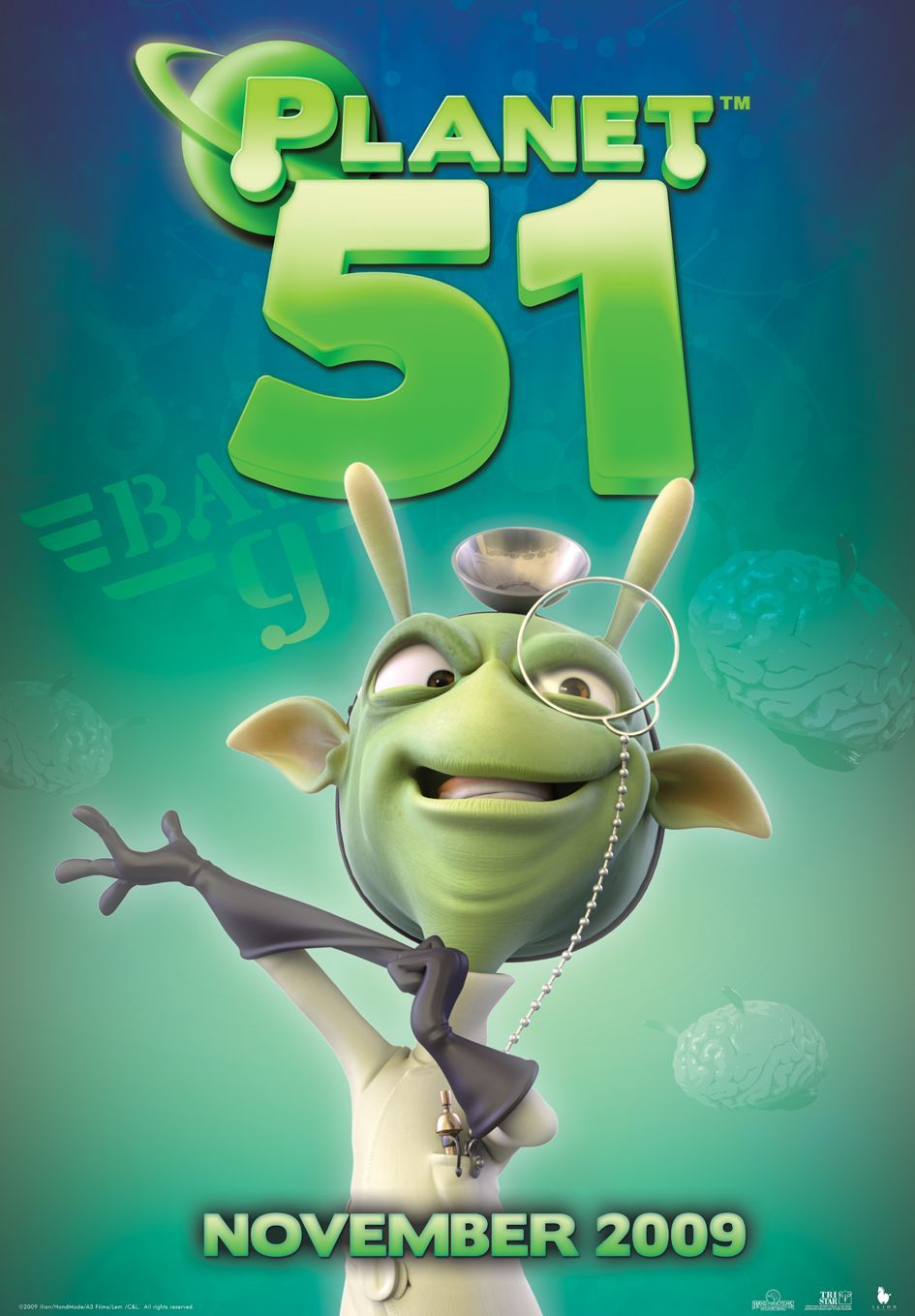 Planet 51 - alien scientist