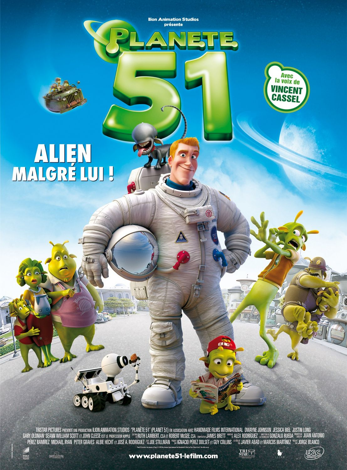 Planet 51 - animated film poster