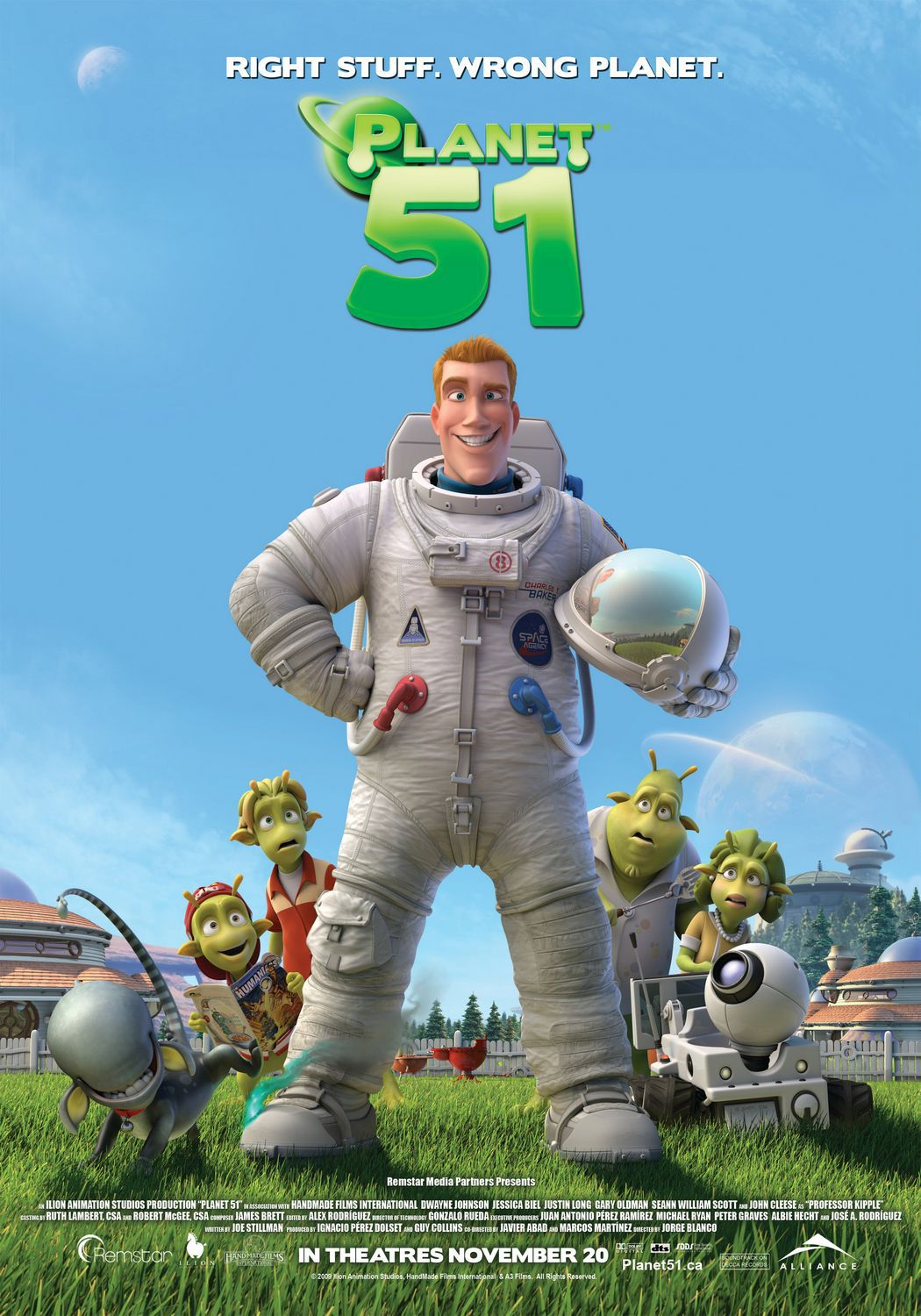 Planet 51 - alien invasor