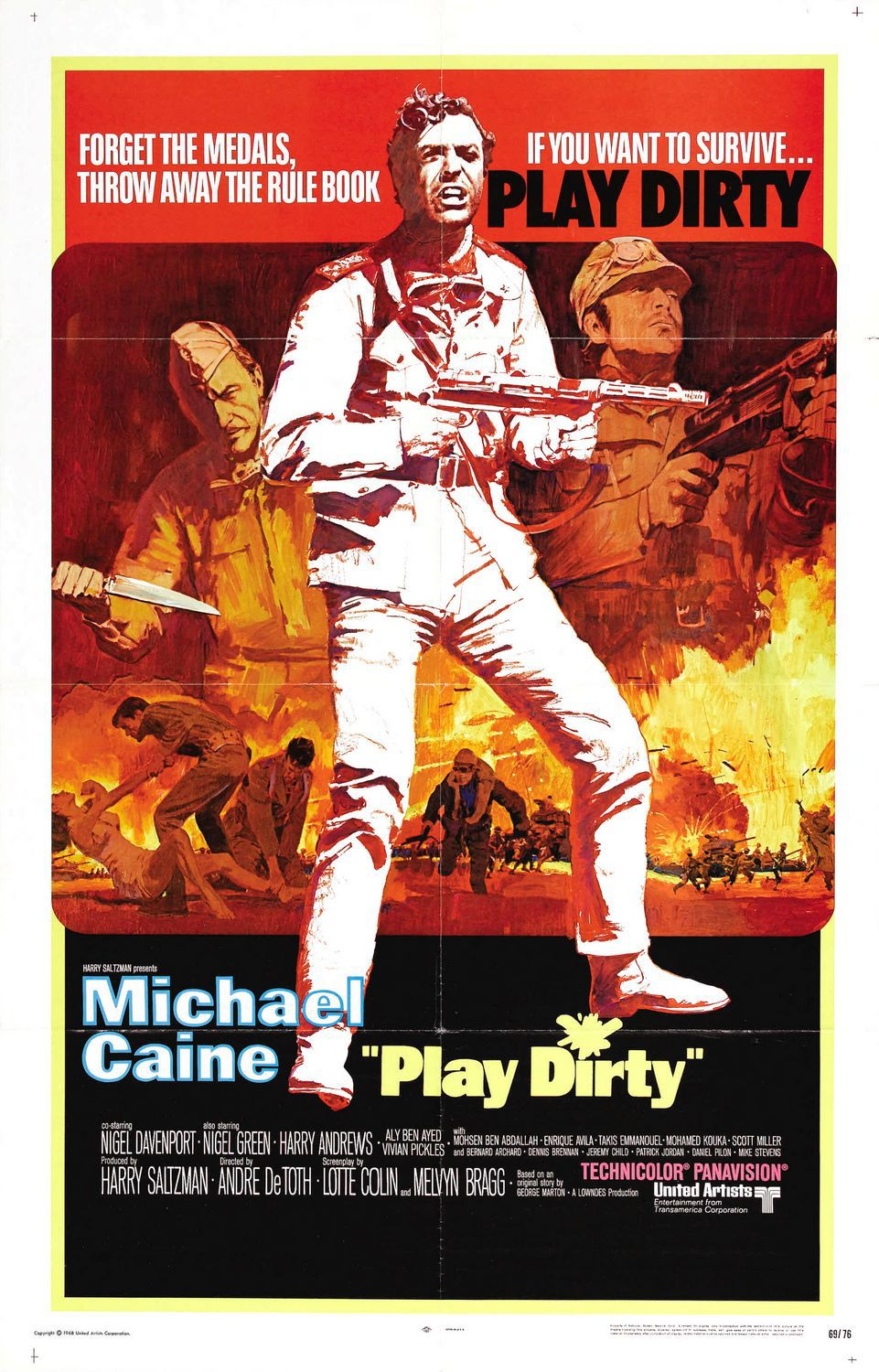 Play Dirty - Gioco Sporco - film poster