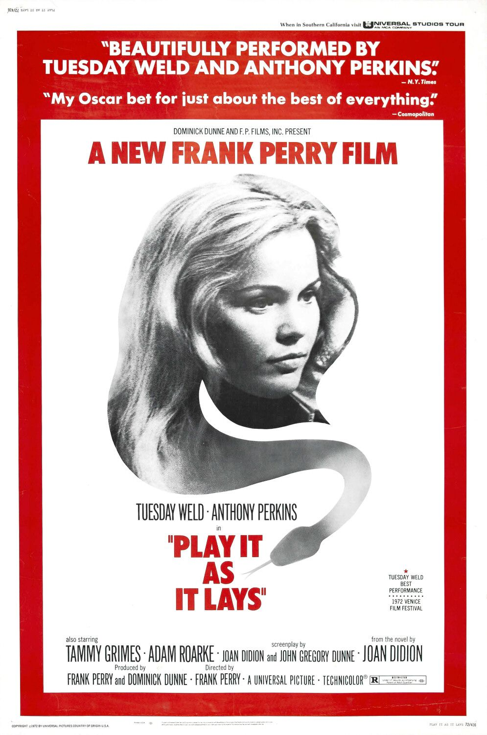 Play it as it Lays - film poster