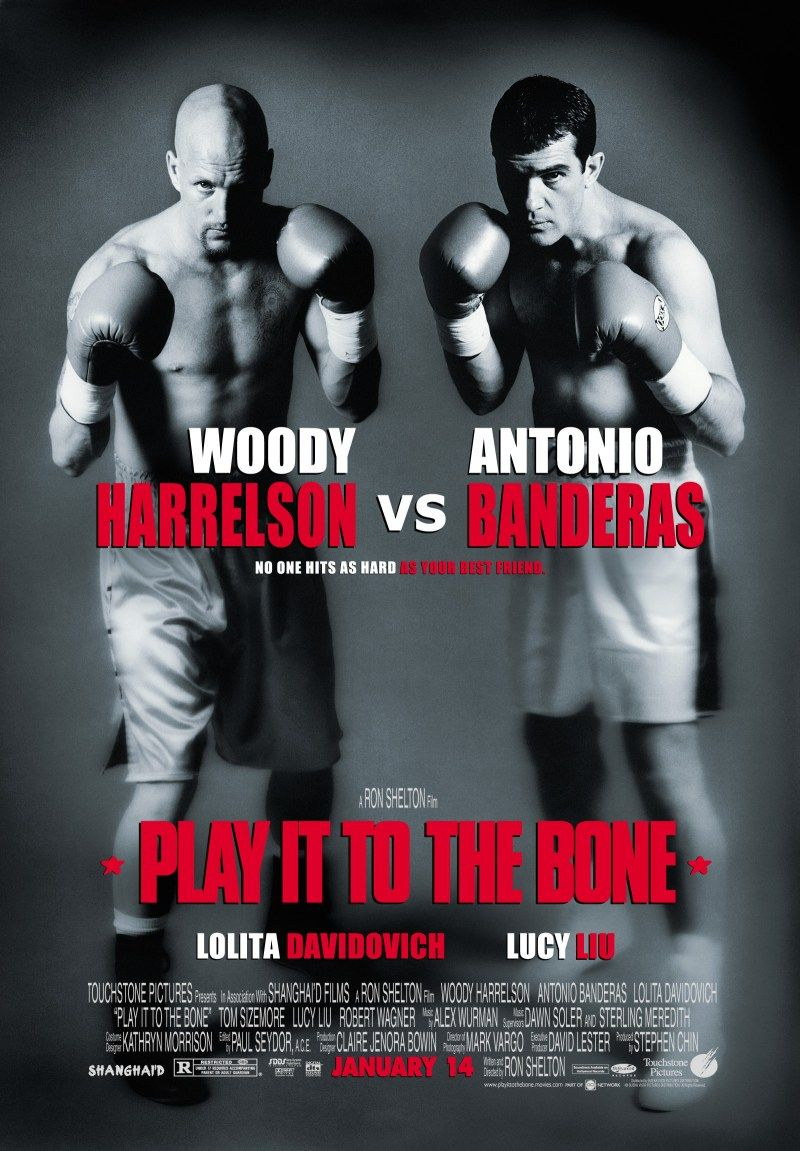 Play it to the Bone - film poster  boxing box