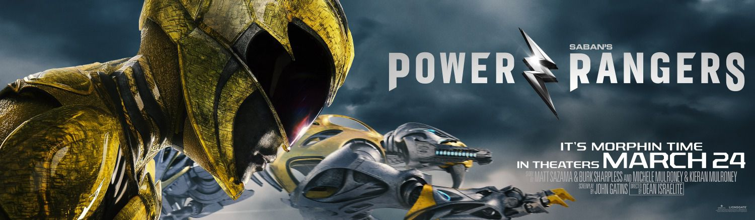 Power Rangers - film poster 2017