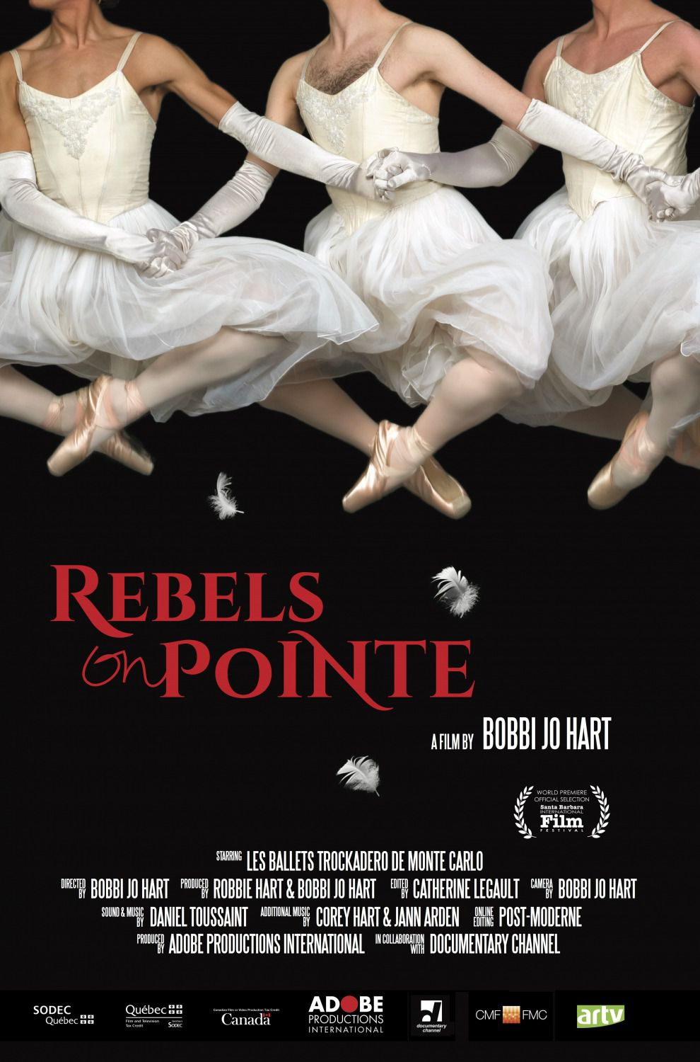 Rebels on Pointe - Ribelli sulle Punte by Bobbi Jo Hart - dance film poster