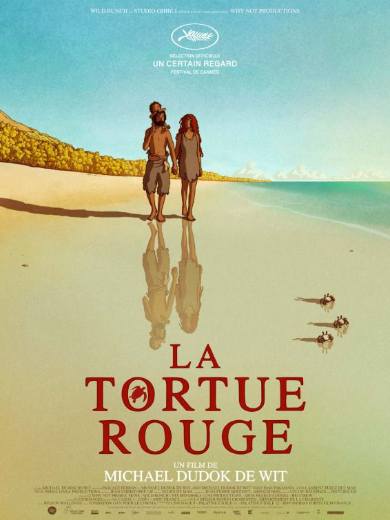 Red Turtle - La Tartaruga Rossa