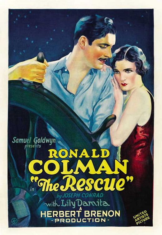 The Rescue (1929) - film old classic cult old poster