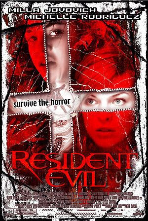 Resident Evil (2002) the first horror film of the Saga, the begin of Alice adventure ...