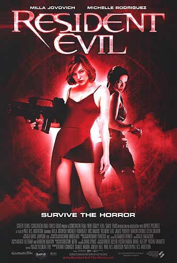 Resident Evil (2002) the first film of the Saga