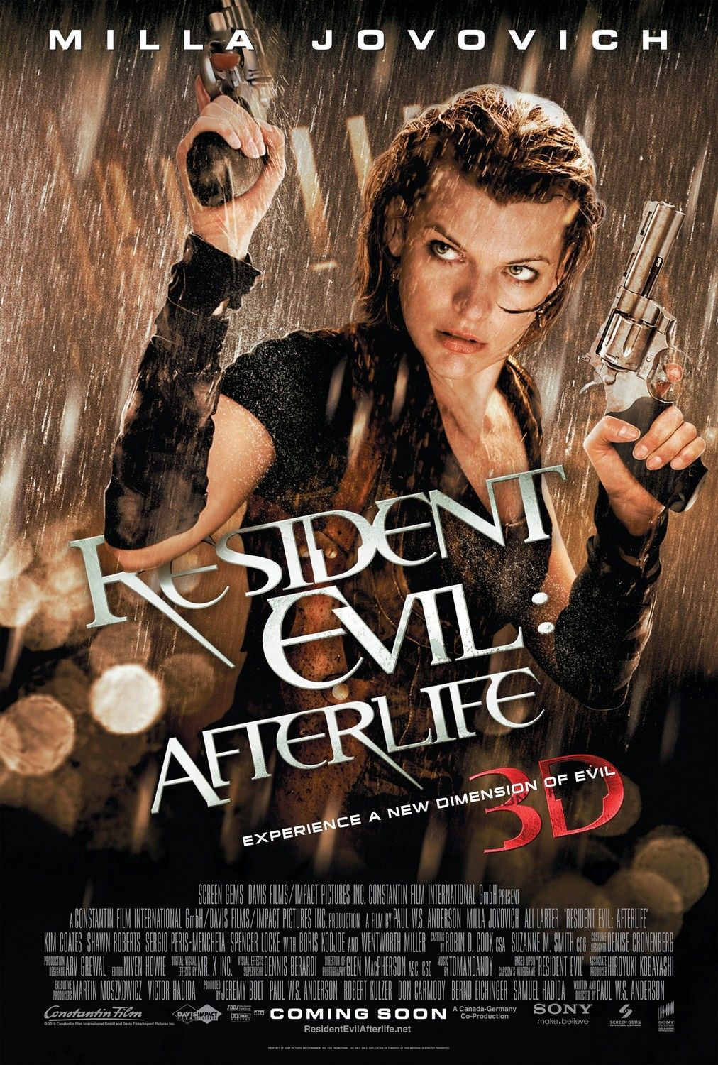 Resident Evil Afterlife (2010) - film poster