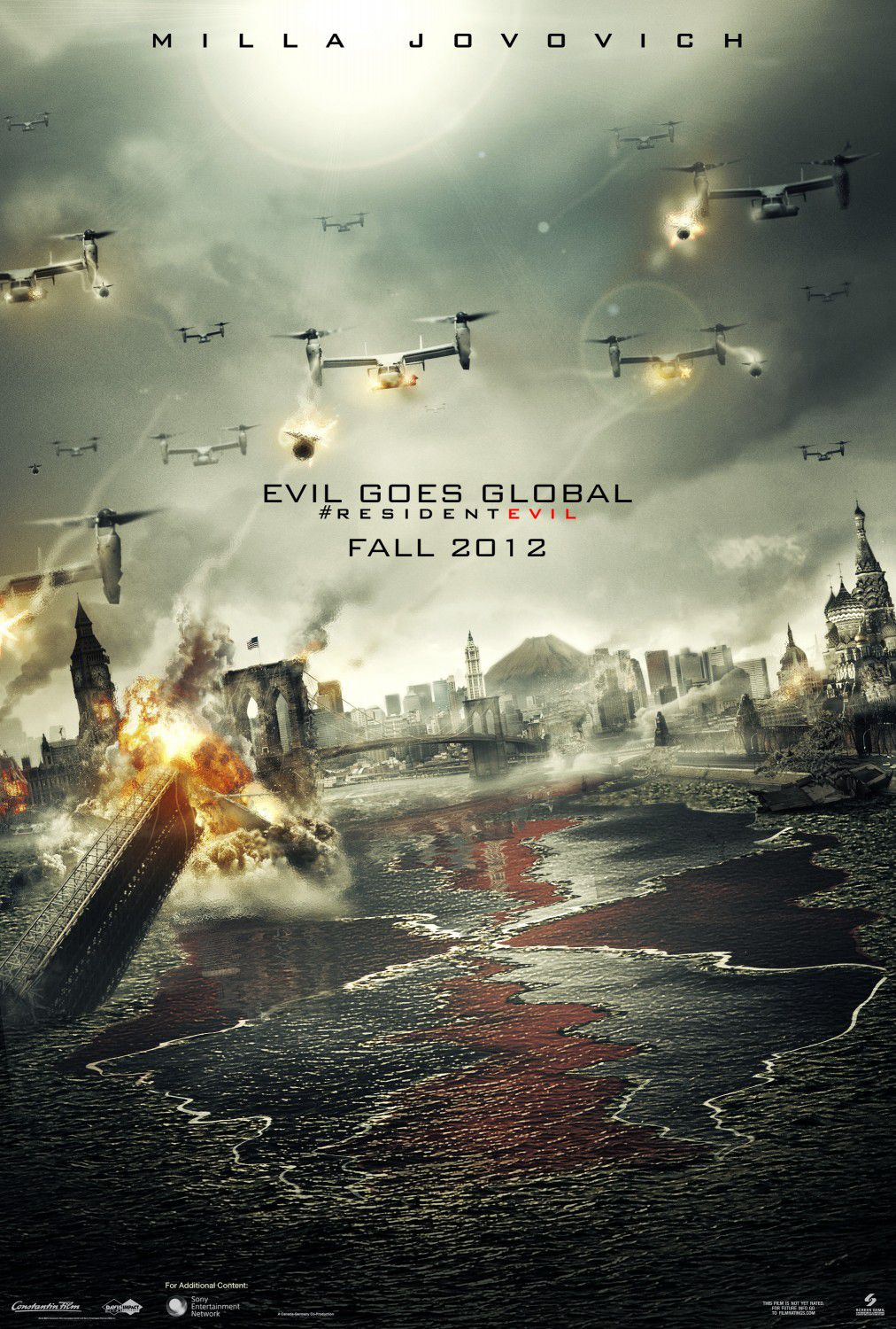 Resident Evil 5 - Retribution (2012) - final battle