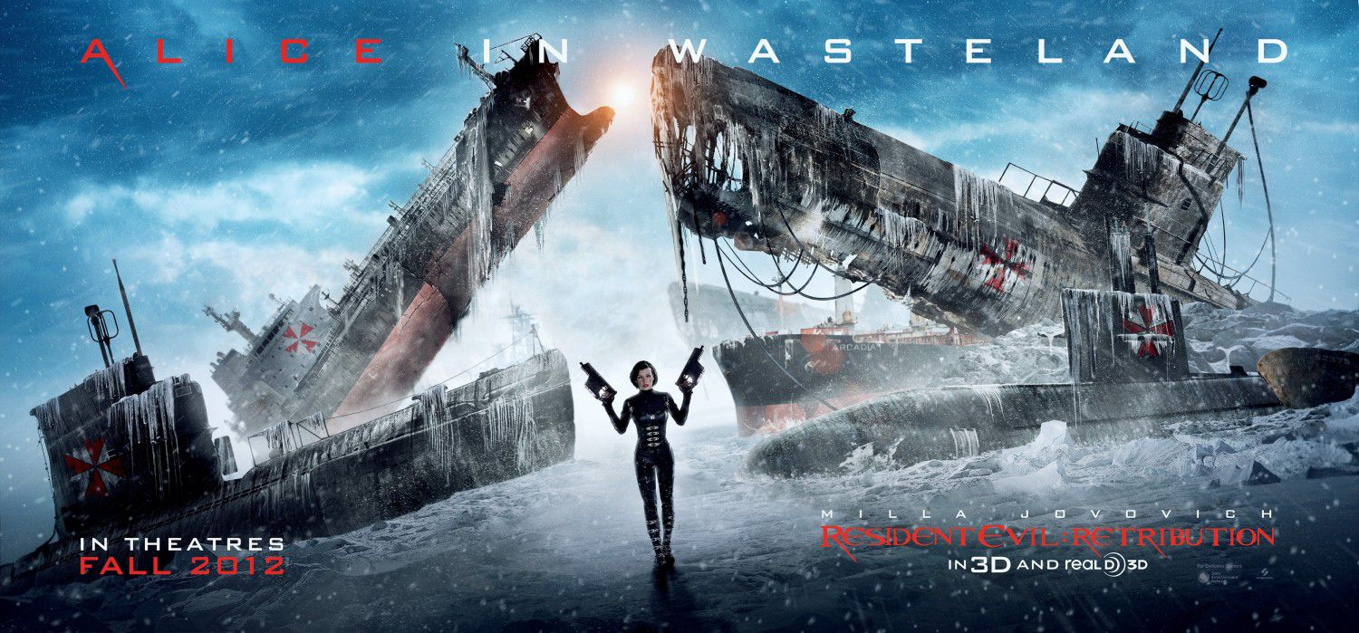Resident Evil 5 - Retribution (2012) - Super Alice