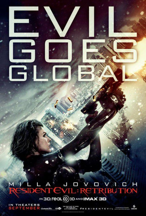 Resident Evil 5 - Retribution (2012) - Evil goes global