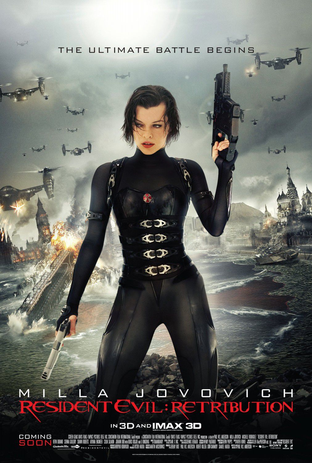Milla Jovovich is Alice
