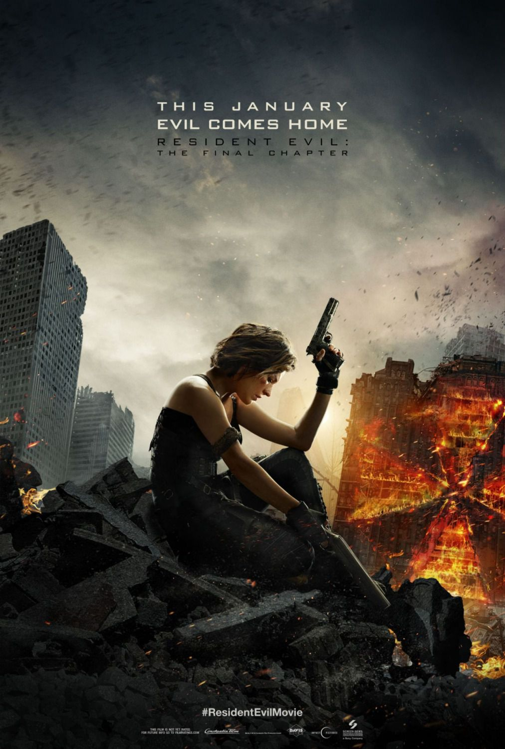 Resident Evil 6 - The Final Chapter (2016) - Alice (Milla Jovovich)