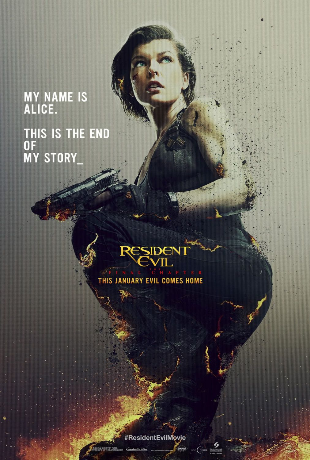 Resident Evil 6 - The Final Chapter (2016) - Milla Jovovich