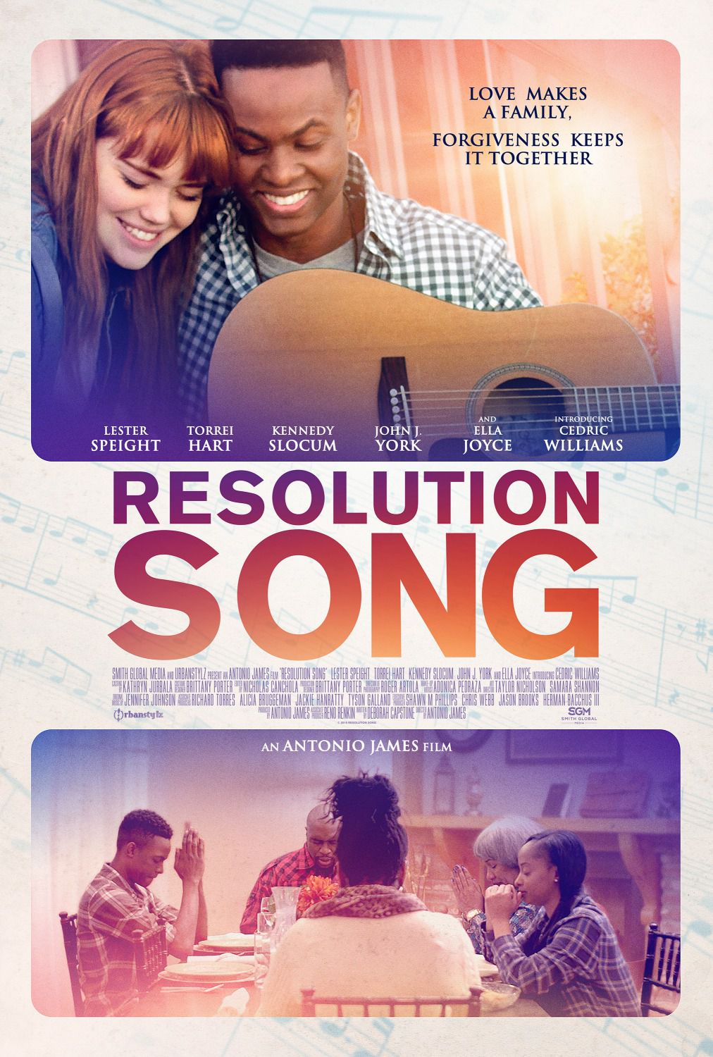 Resolution song - film poster