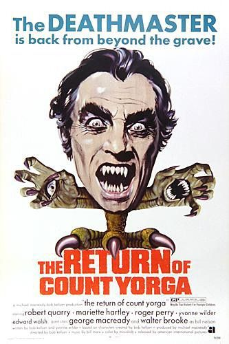 Return of Count Yorga - Il Ritorno del Conte Yorga