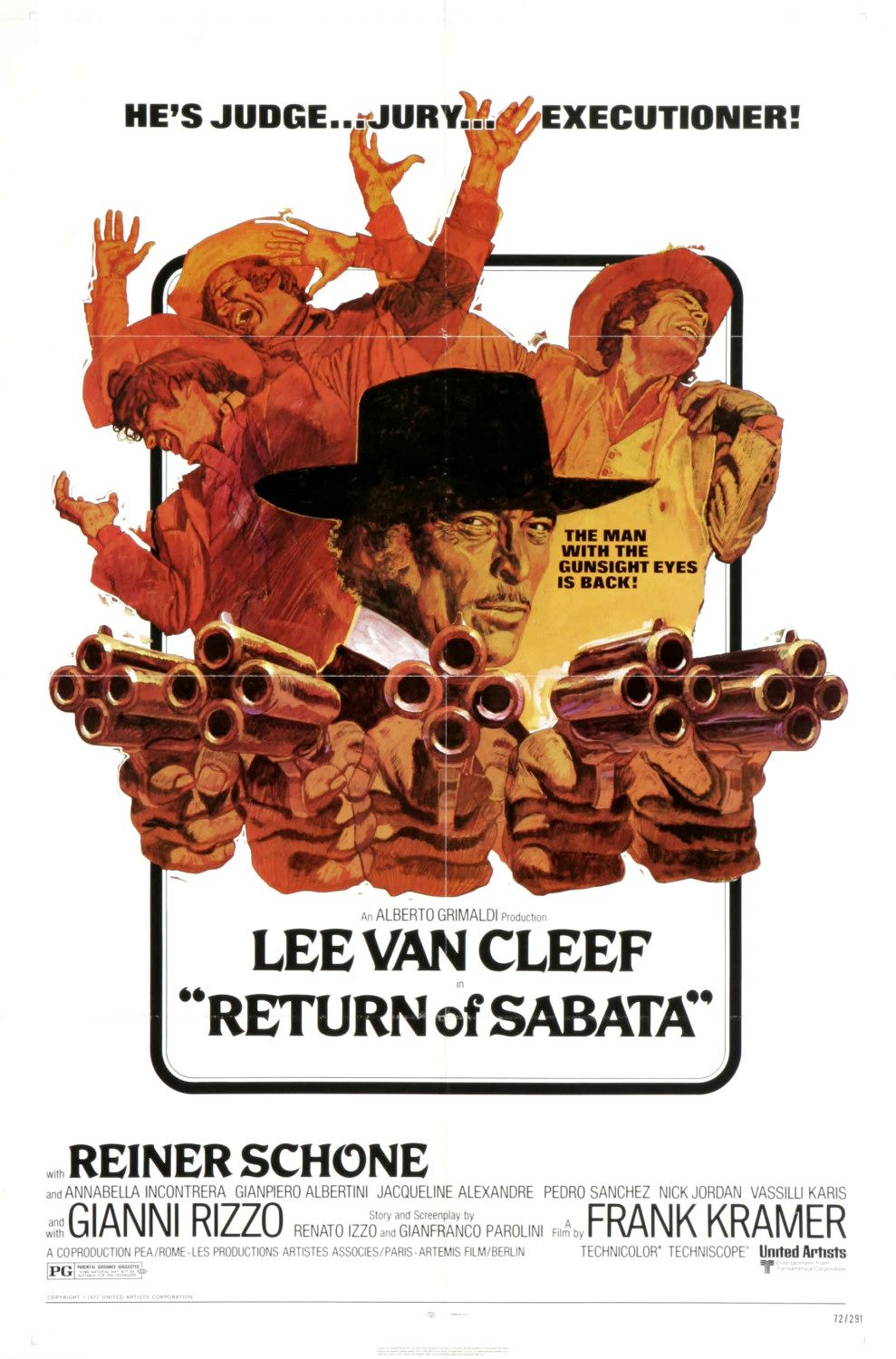 Return of Sabata - film poster