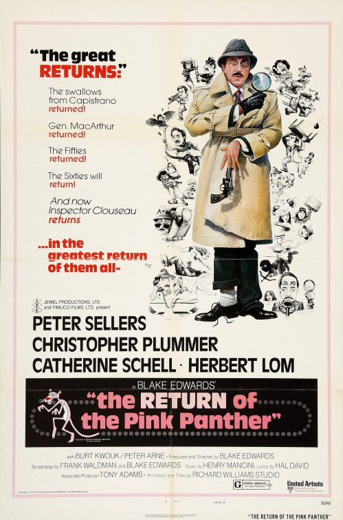 The Return of the Pink Panther - Il Ritorno della Pantera Rosa (1975)