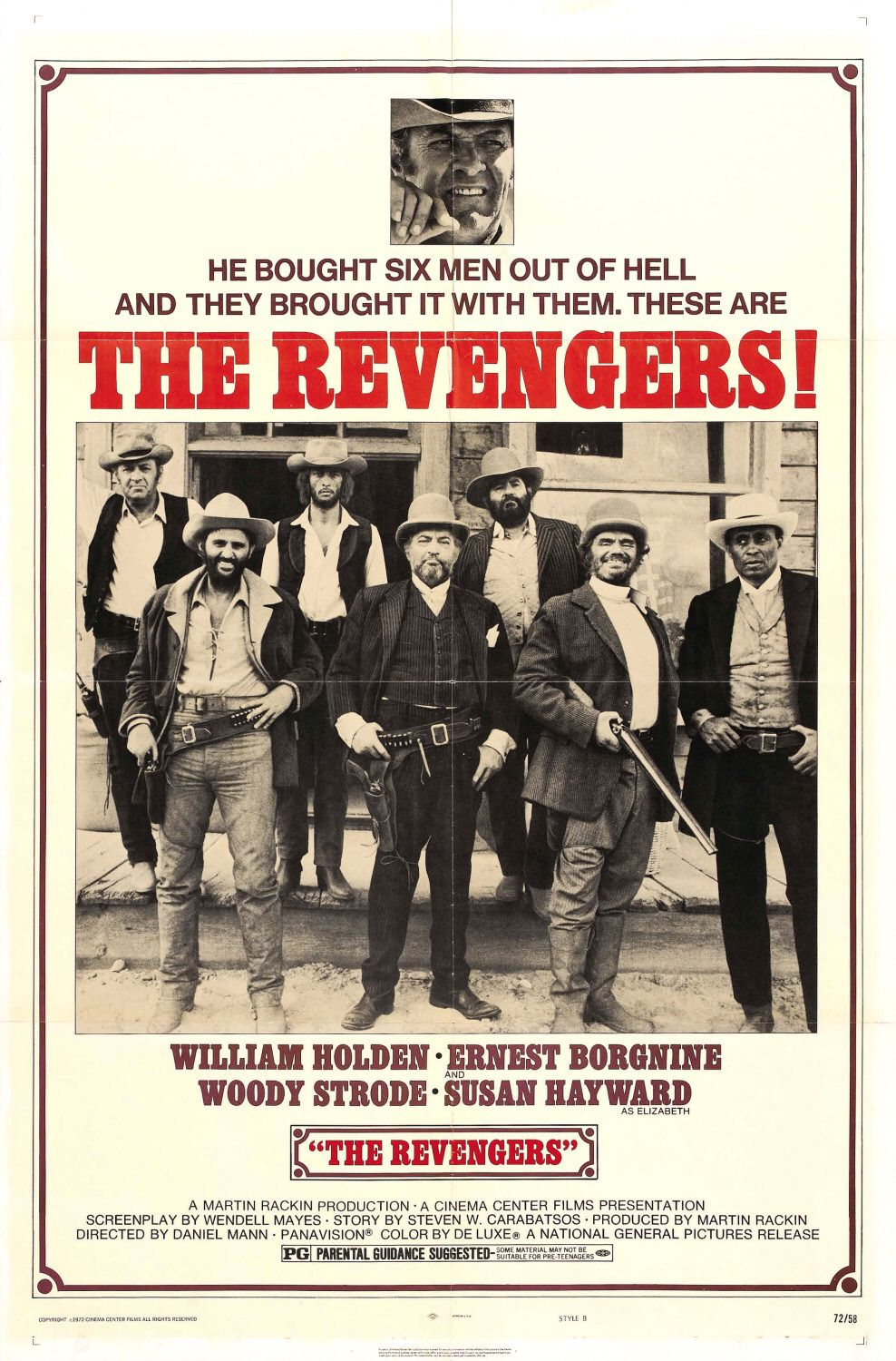 Revengers (1972)  - special western film