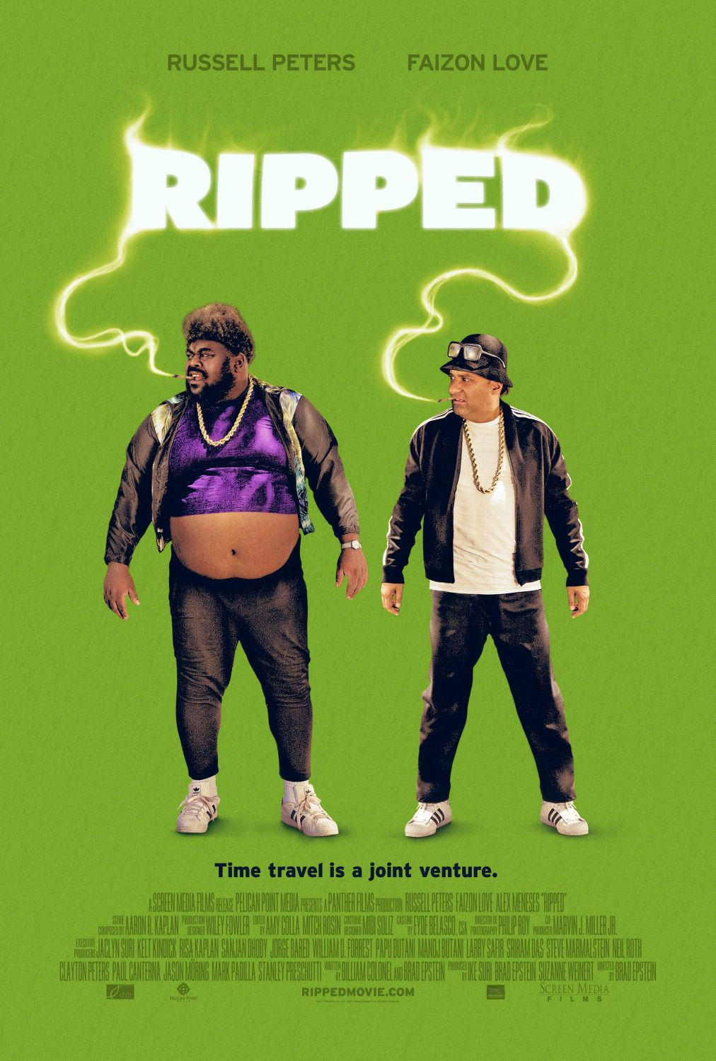 Ripped film poster