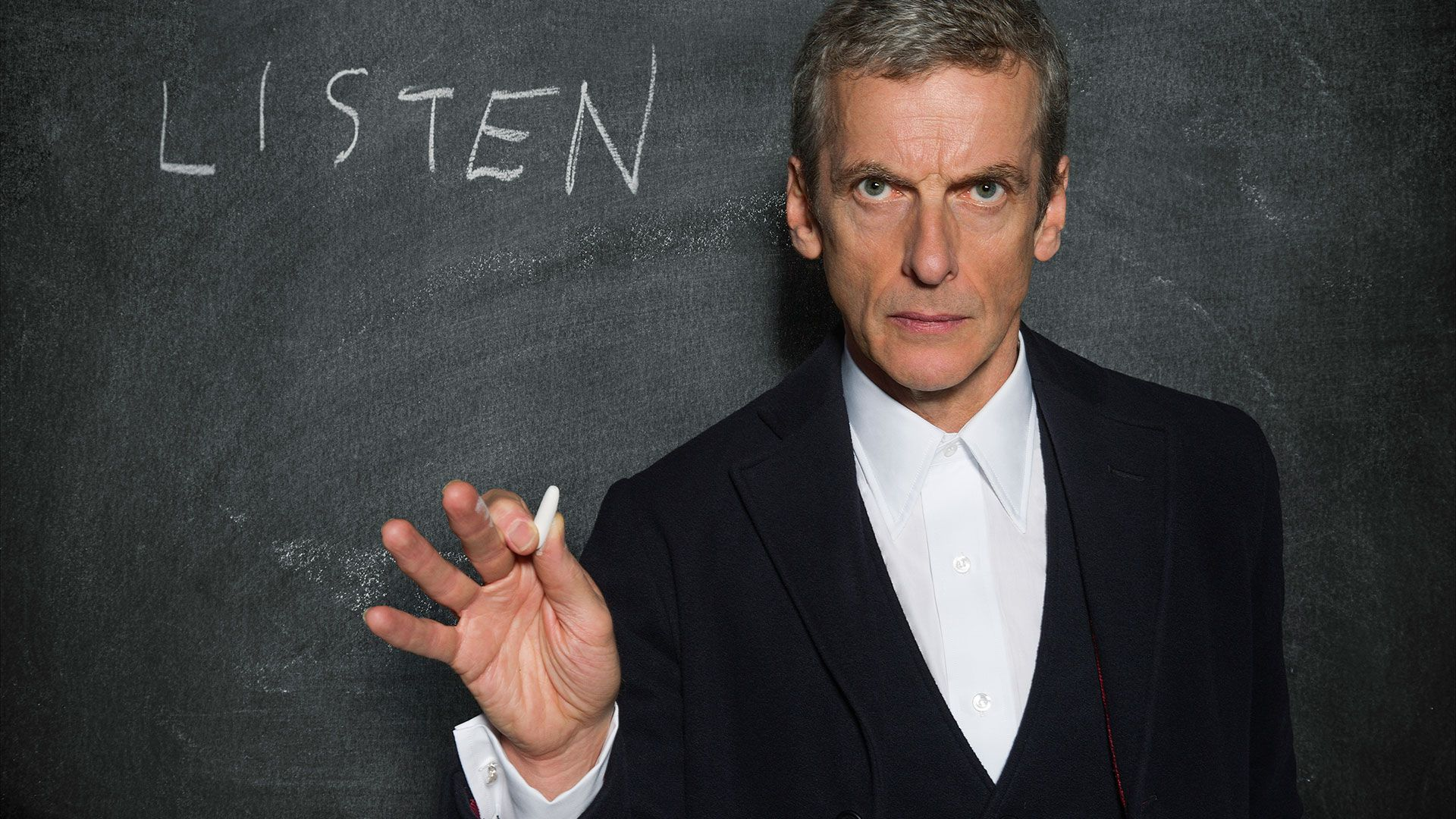 Saga Doctor Who teacher listen