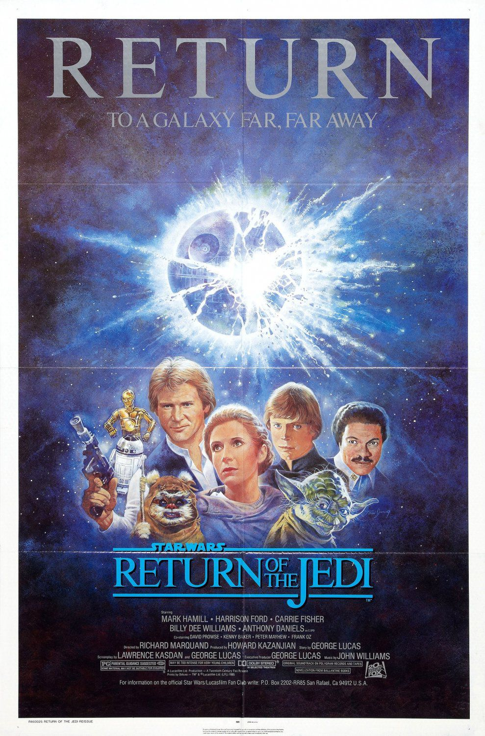 Star Wars - Return of the Jedi - film poster