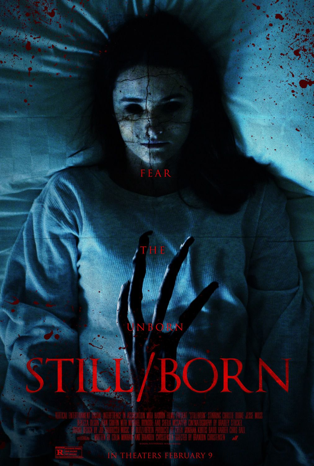 Stillborn - horror film psoter